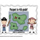 Passport to the 4th grade: 3rd grade end of year scavenger hunt!