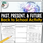 Back to School Writing Activity - Past, Present & Future