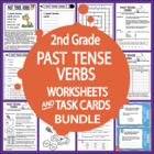 Past Tense Verbs-Second Grade Common Core Lesson