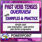 Past Verb Tenses PowerPoint