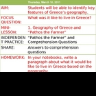 Pathos the Farmer Greece Geography