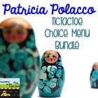 Patricia Polacco Author Study TicTacToe Choice Board Bundle