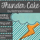 Patricia Polacco&#039;s Thunder Cake Book Study and Writing Activities