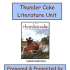 Patricia Polacco&#039;s Thundercake Literature Unit