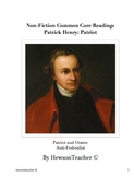 Patrick Henry Common Core Literacy Across the Curriculum Unit
