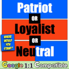 Patriot, Loyalist, or Neutral?  Where would YOU stand?