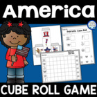 Patriotic Cube Roll Game