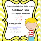 Patriotic Flag Hundreds Chart Hidden Picture Set 2