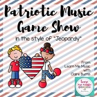 Patriotic Music TV Game Show Flipchart