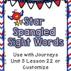 Patriotic Sight Words