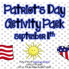 Patriot&#039;s Day Activity Pack for September 11th