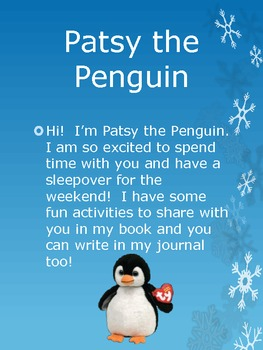 Patsy the Peguin Class pet