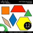 Pattern Blocks {Graphics for Commercial Use}