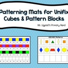 Patterning Mats for Unifix Cubes and Pattern Blocks