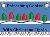 Patterning with Christmas Lights