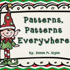 Patterns Patterns Everywhere (December Math)