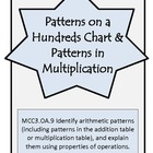 Patterns on a Hundreds Chart-3rd Grade Math Operations & A