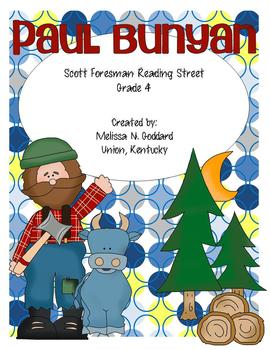 Paul Bunyan : Reading Street : Grade 4
