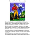 Paul Bunyan - an Easy Reading Tall Tale!