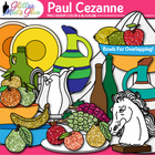 Paul Cezanne Still Life With Fruit Clipart - Art History W