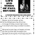 Paul Revere Poetry Reader-Social Studies-COMMON CORE