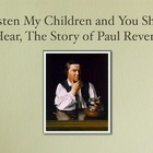 Paul Revere Slide Show Movie and Script -  American Revolution