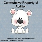 Pauly Polar Bear's Common Core Commutative Property of Add