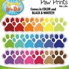Paw Prints  Over 20 Graphics!