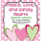 Peace, Love, &amp; Candy Hearts:  Math &amp; Literacy Activities {