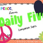 Peace, Love, Daily 5