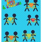 Peace, Love & Prefixes File Folder Game