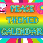 Peace Themed Calendar