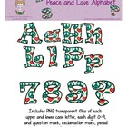Peace and Love Alphabet