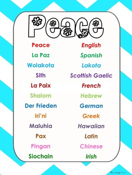 Peace on Earth: Bible Based Literacy Activities