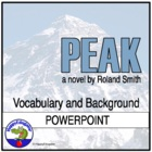 Peak by Roland Smith Introductory PowerPoint Presentation