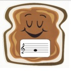 Peanut Butter Jelly Pitch: A Treble Clef Activity