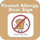 Peanut Free Zone (Peanut Allergies)