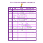 Pedometer Worksheet
