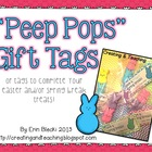 Peep Pop Gift Tags