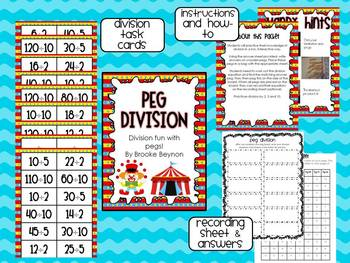 Peg Division - Division Fun with Clothes pegs