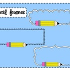 Pencil Frames Clip Art