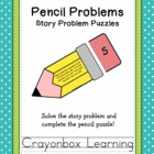 Pencil Problems - Story Problems - Math Learning Center