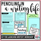 Penciling In a Worthwhile Writing Life: BacktoSchool Promp
