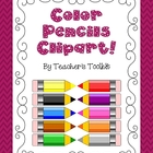 Pencils with Colors Freebie
