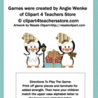 Penguin Alphabet Match Up Game