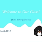 Penguin Back to School Slideshow