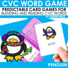 Penguin CVC Memory Match and BLIZZARD! Game