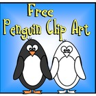 Penguin Clip Art FREE for Personal or Commercial Use