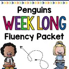Penguin Fluency Weeklong Packet