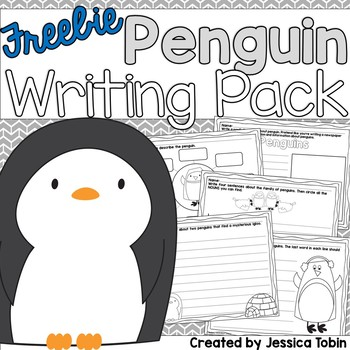 Penguin Freebie Writing Pack